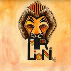 """Mr. Lion"" por Ruth Agua"