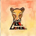 """Miss. Lioness"" por Ruth Agua"