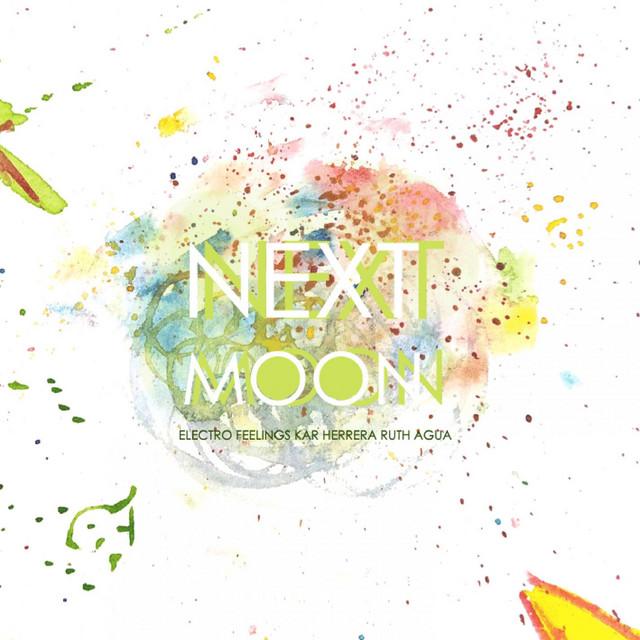 """Portada del single: """"Next Moon"""" (Ruth Agua)"""