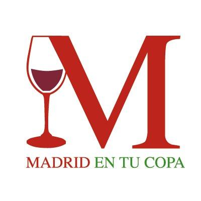 "Logo de ""Madrid En Tu Copa"" (Ruth Agua)"