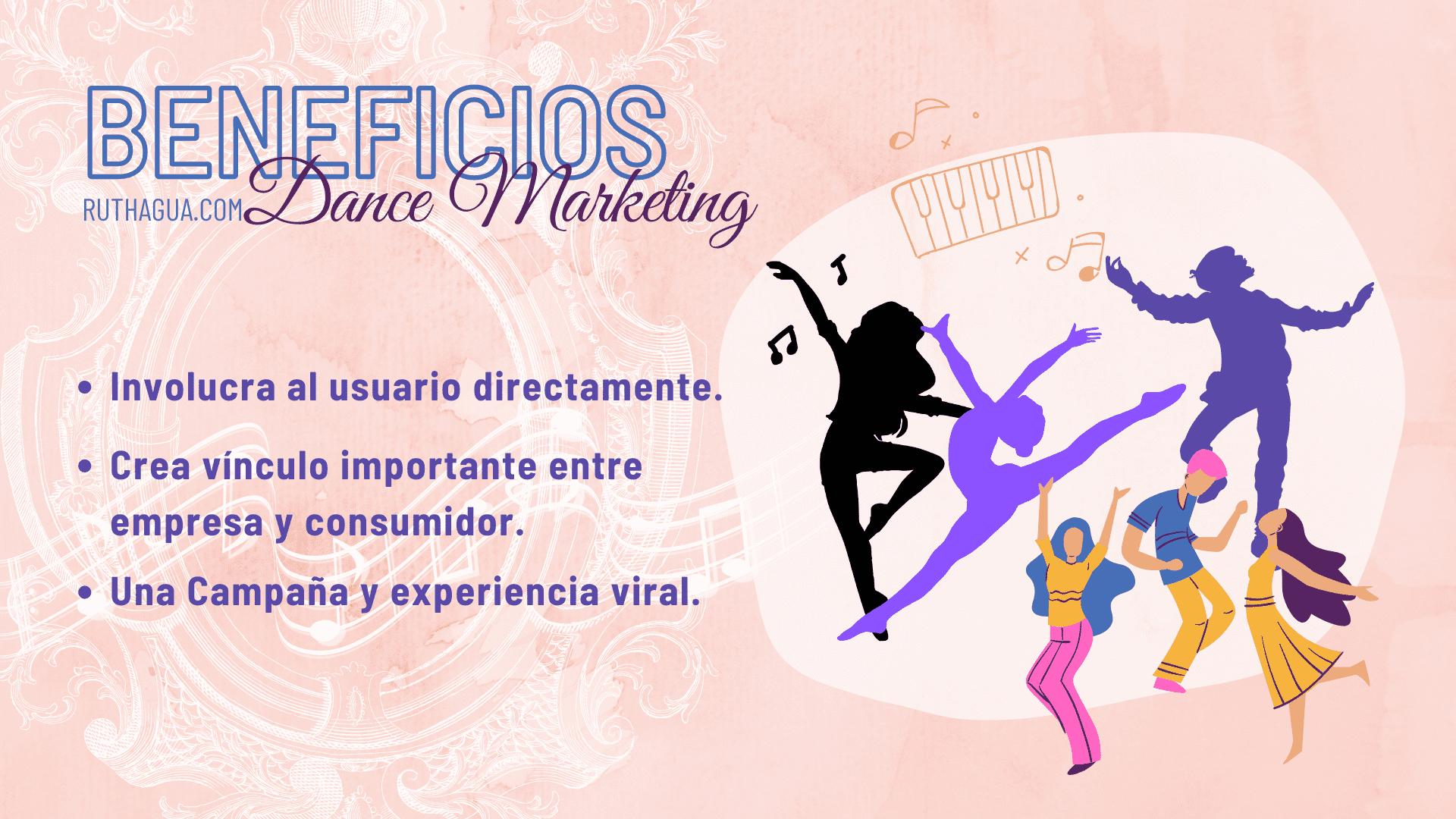 Beneficios de Dance Marketing