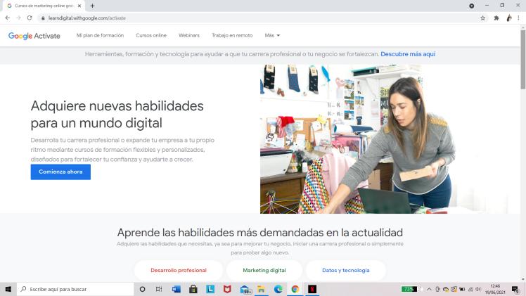 Google Actívate: Portada